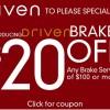 Brakes Coupon